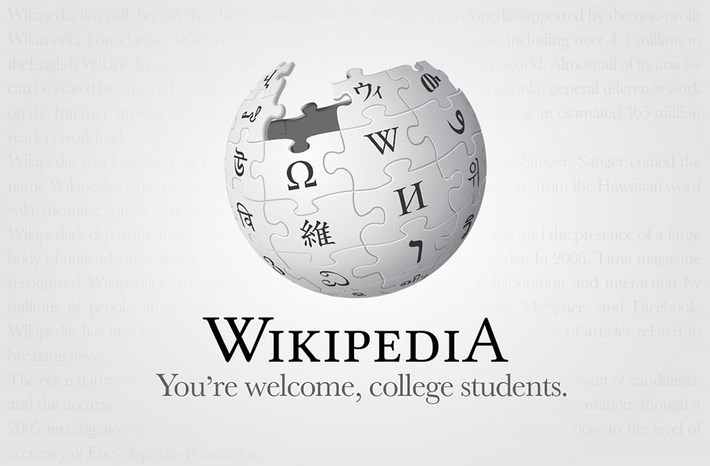 Wikipedia Logo Brand Slogans