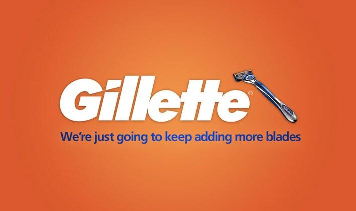 Gillette Brand-Slogan