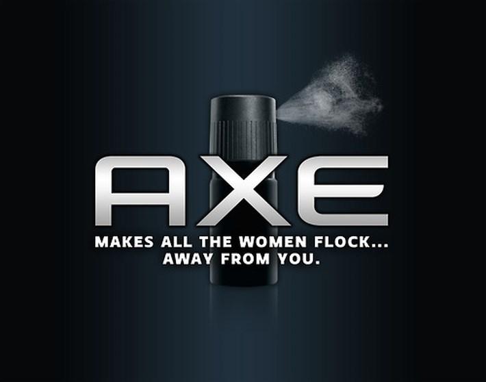 Axe Brand-Slogan