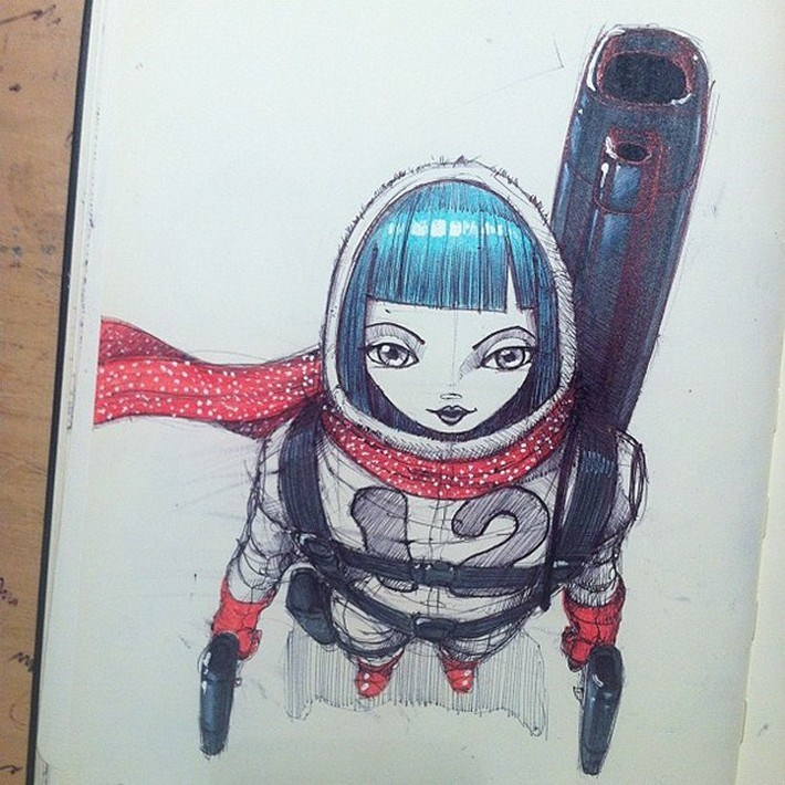 Moleskine Sketches 3