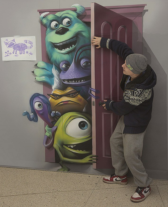 Amazing 3D Painting by Brain Mash