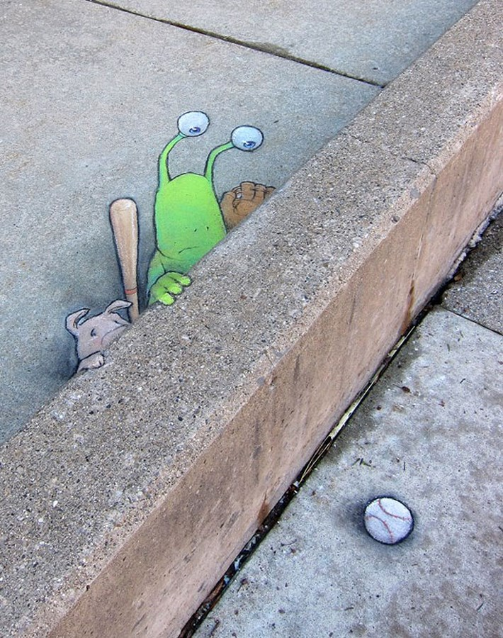 Chalk Art by Zinn