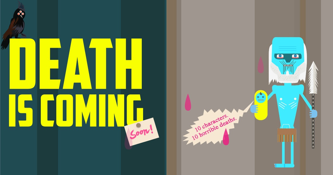 Death is coming Tribute to Game of Thrones - Parallax Scrolling Website