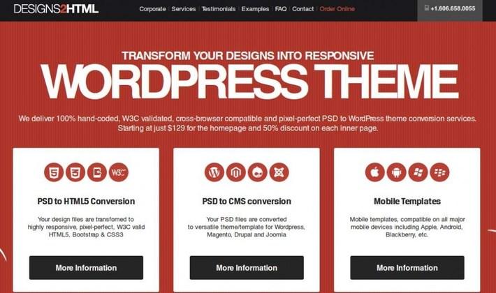 Designs2HTML