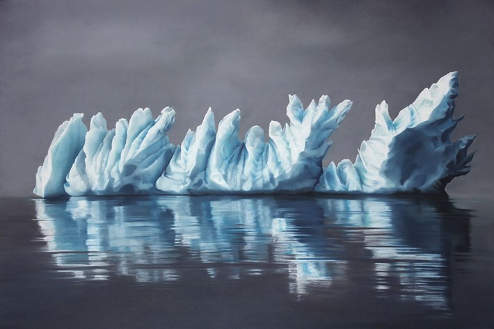 Melting-Iceberg-Painting-by-Zaria-Forman