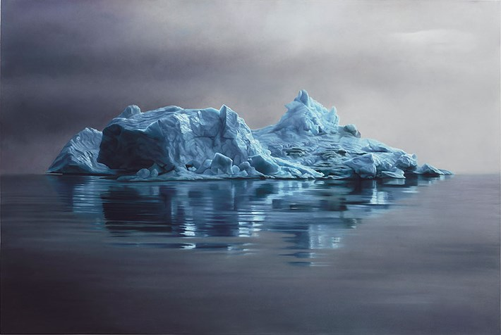 Melting Iceberg Drawing