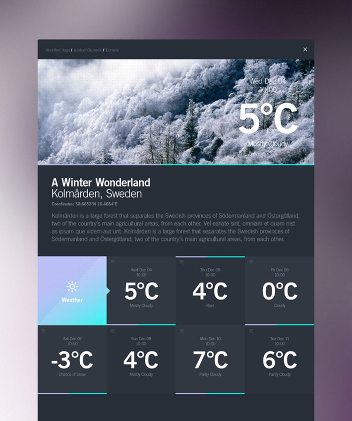 Weather_Dashboard_Global_Outlook_UI_UX_Design