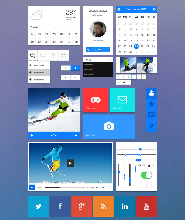 Wes Bootstrap UI Kit