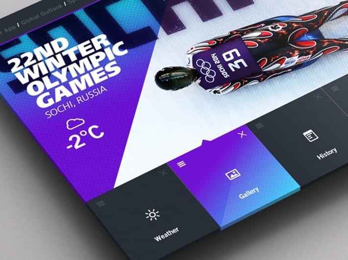 Weather Dashboard UI UX Design Inspiration