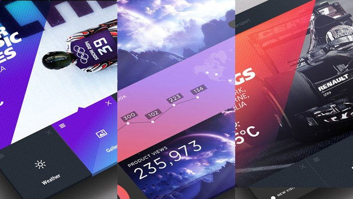 Beautiful UI UX Design Inspiration