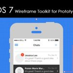 Download free iOS 7 iPhone Wireframe Toolkit for Prototyping
