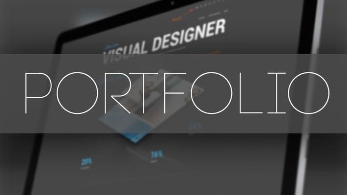 Make Your Portfolio for become a graphic designer