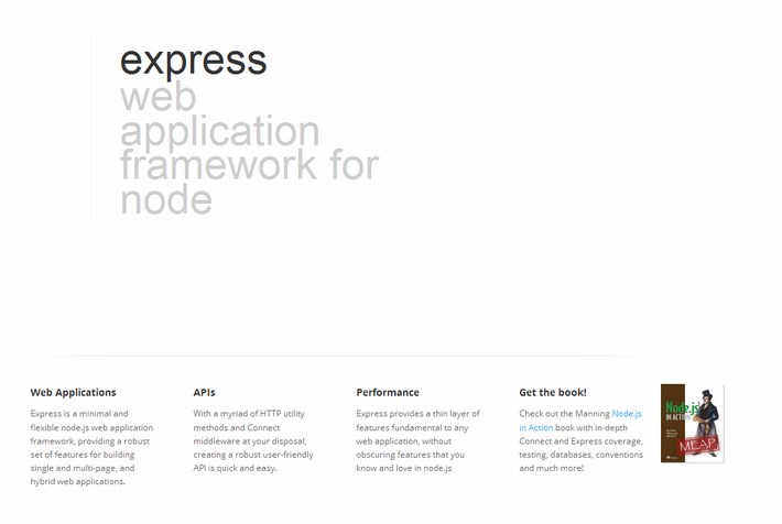 Express - Node.js web application framework