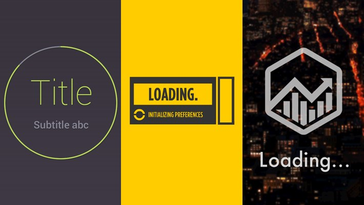 25 Beautiful Loading Bar Design Examples (Gif Animated)