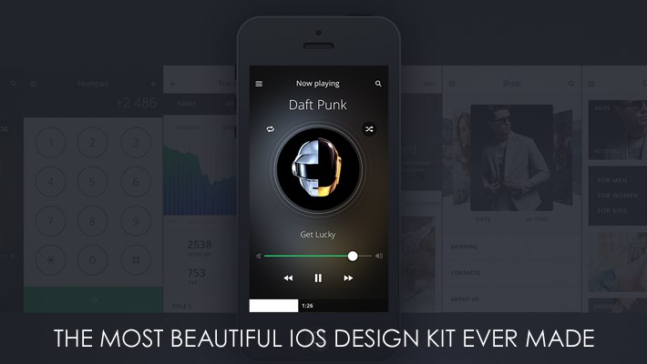Beautiful iOS Design Kit Ever Made