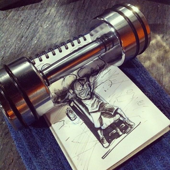 David_Troquier_Creates_Interactive_Doodles_Sketches