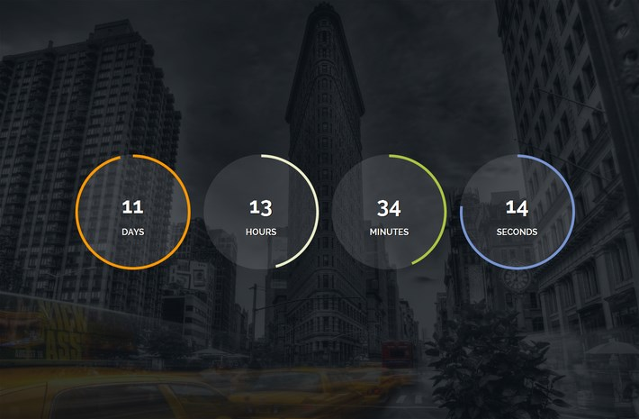 JQuery Countdown Plugin