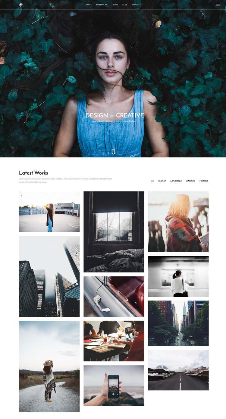 Beautiful WordPress Portfolio Themes