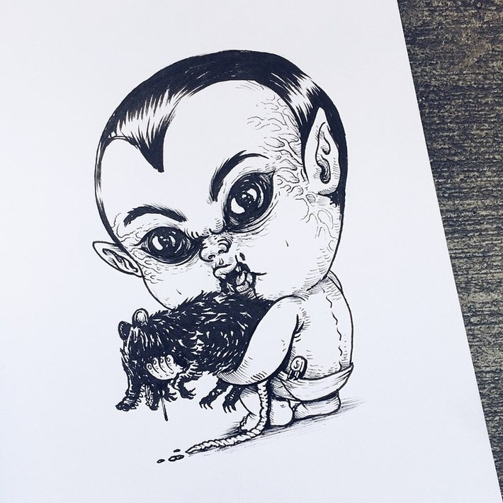 Alex_Solis_Turns_Famous_Horror_Character_as_Baby_Terrors