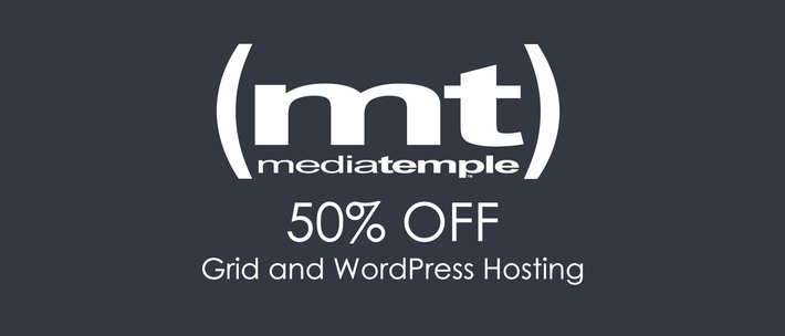 Cyber Monday Media Temple Offer
