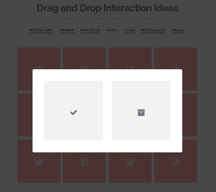 Drag and Drop Interaction Ideas for Web Developers
