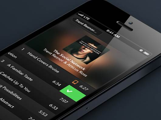 Music-Player-Interaction