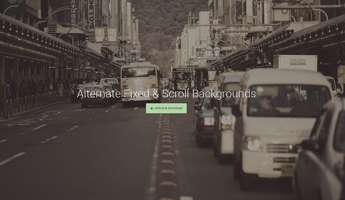 01-Alternate Fixed And Scroll Backgrounds with CSS