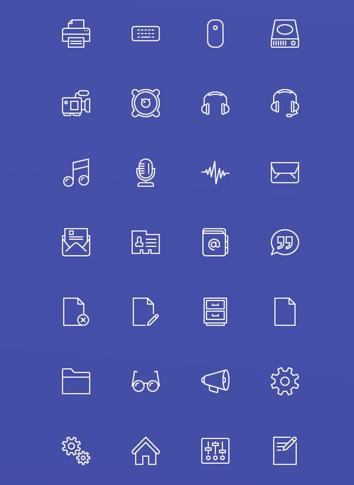 Free Stroke and Fill Webicons