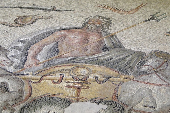 Greek Mosaic Uncovered
