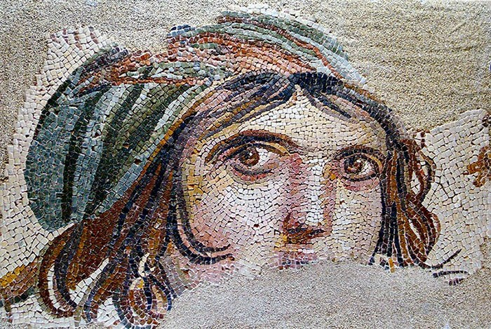 Ancient Greek Mosaic Uncovered in Turkish City of Zeugma