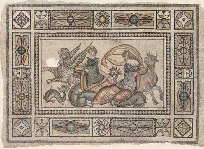 Ancient Greek Mosaics Uncovered