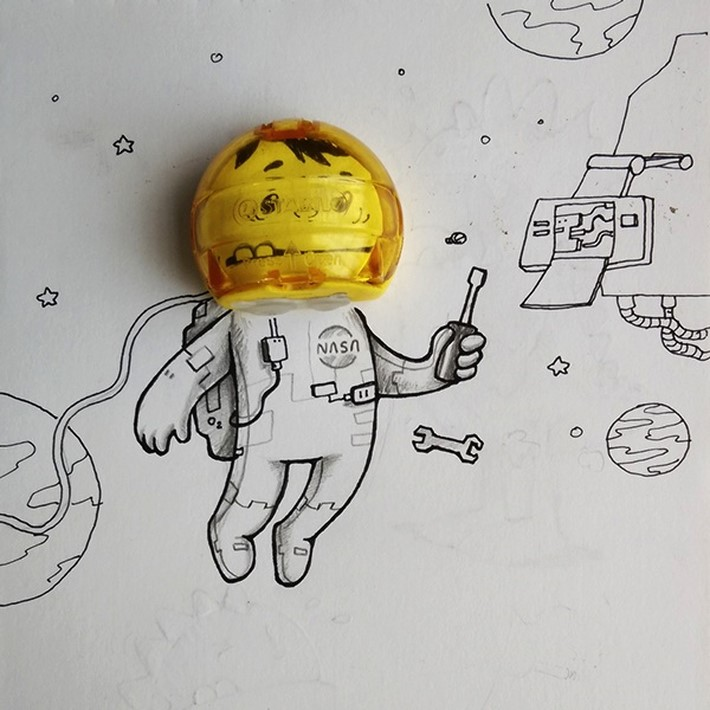Doodles_Wonderfully_Act_Together_With_Real_Life_Objects