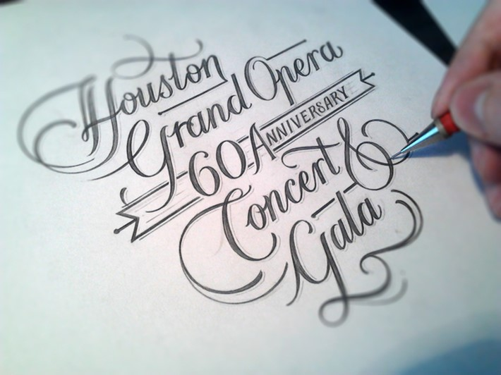 Graceful Hand Lettering