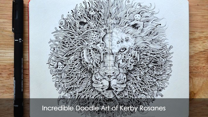 Incredible doodle art of kerby rosanesg pronofoot35fo Choice Image