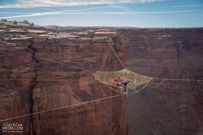 Moab Monkeys put a Pentagon Space Net