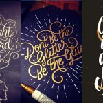 Stunning Hand Lettering by Wells Collins
