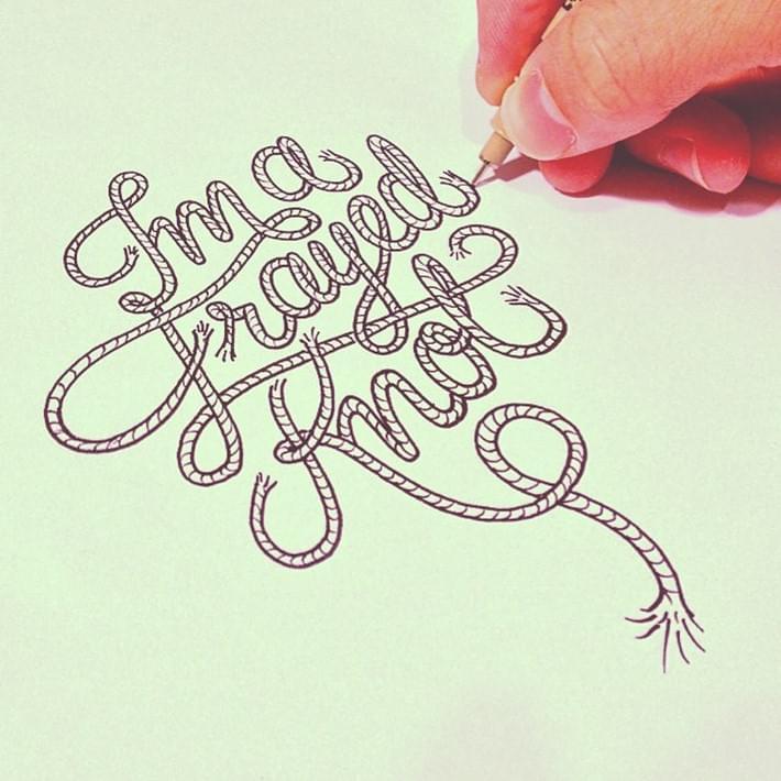 Stunning Hand Lettering