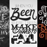 Typography and Lettering Design for Inspiration