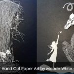 Wonderful Hand Cut Paper Art by Maude White
