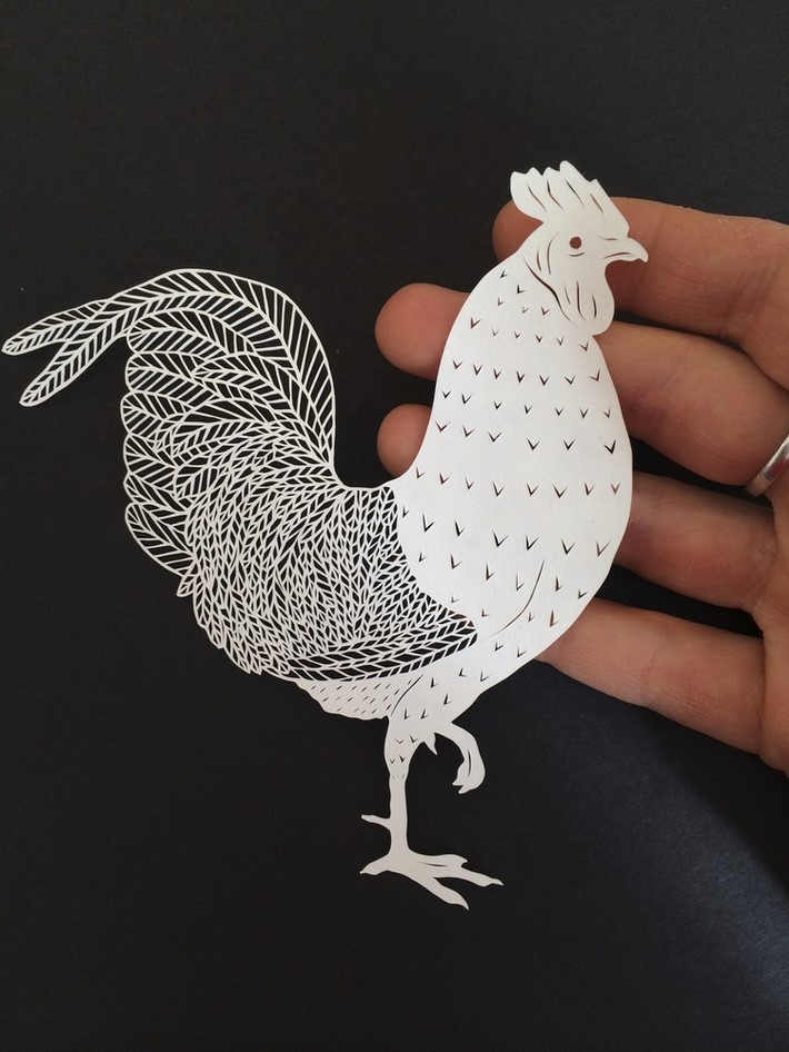 Wonderful Hand Cut Paper Art