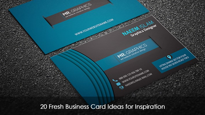20 fresh business card ideas for inspirationg reheart Choice Image