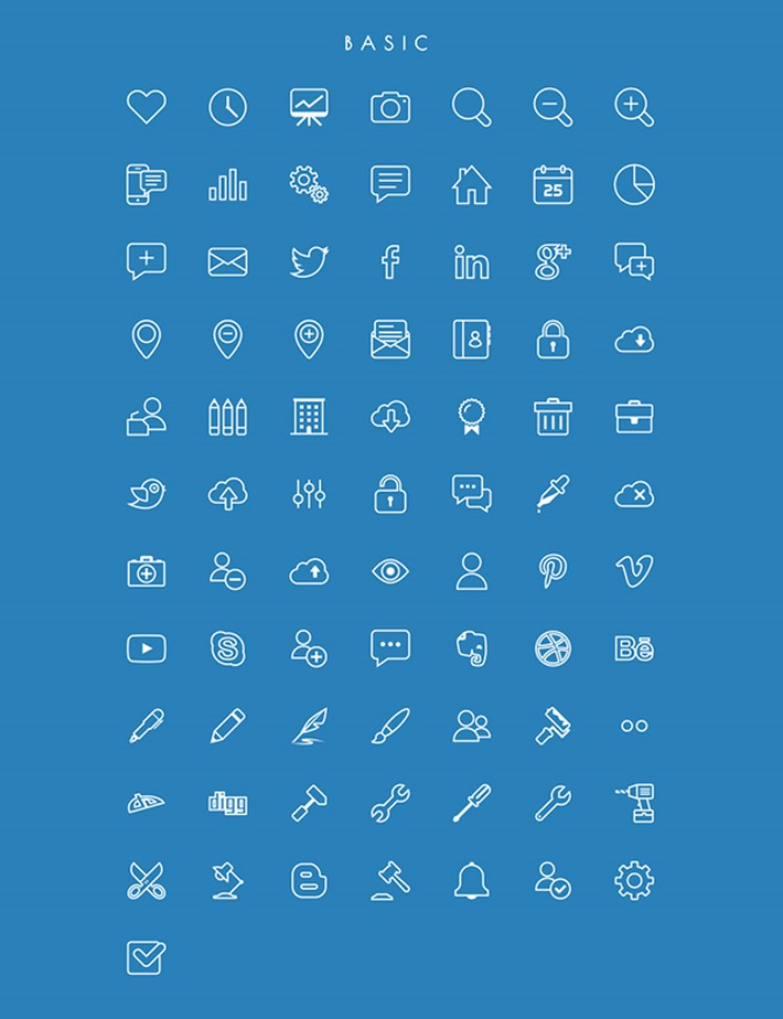 274_Free_Vector_Line_Icons