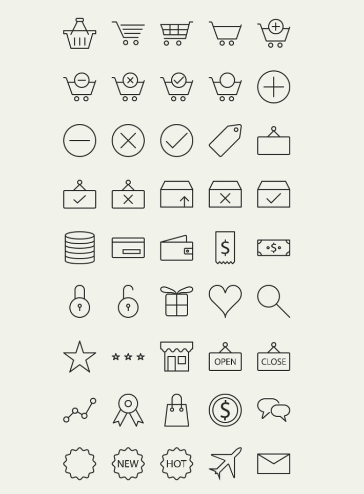 45-Free-Vector-Outline-Ecommerce-Icons