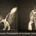 Dynamic Photographs of Acrobatic Dancer