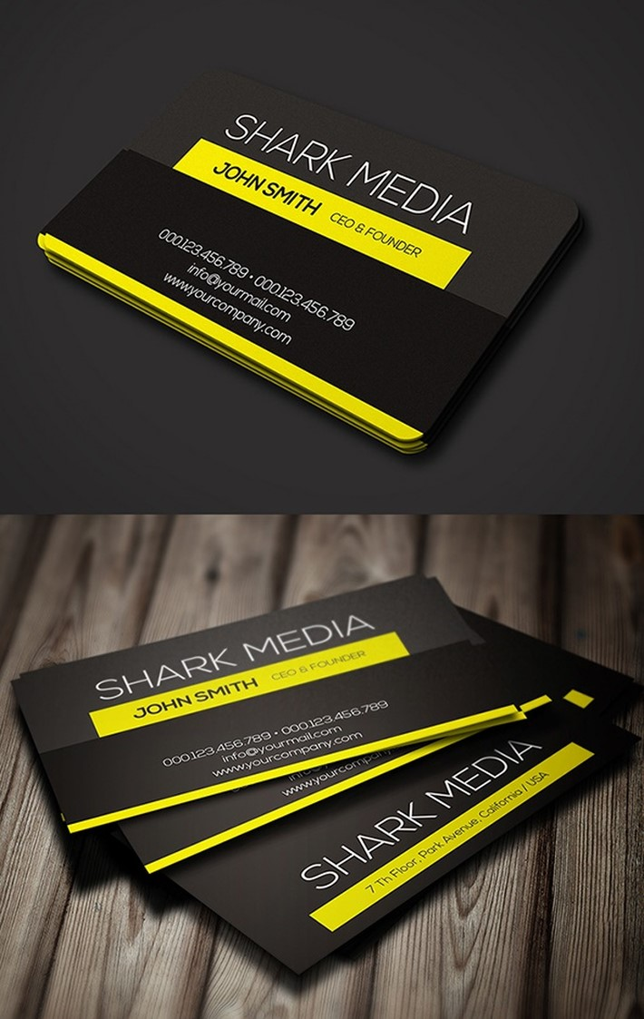 20 fresh business card ideas for inspiration elegant business card magicingreecefo Images