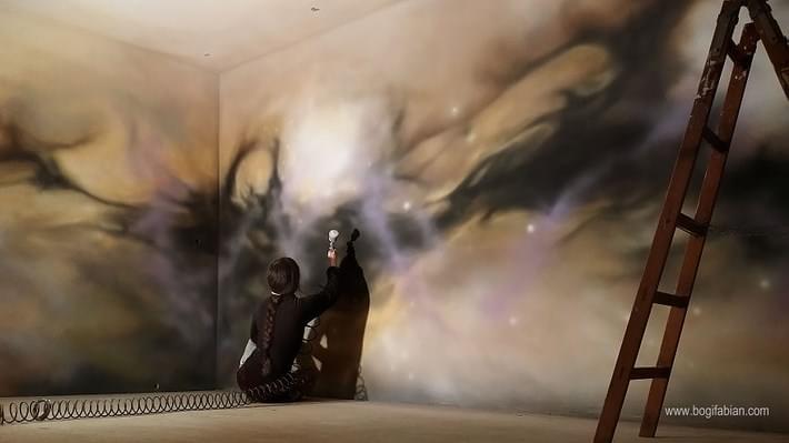 Glowing Murals by Bogi Fabian