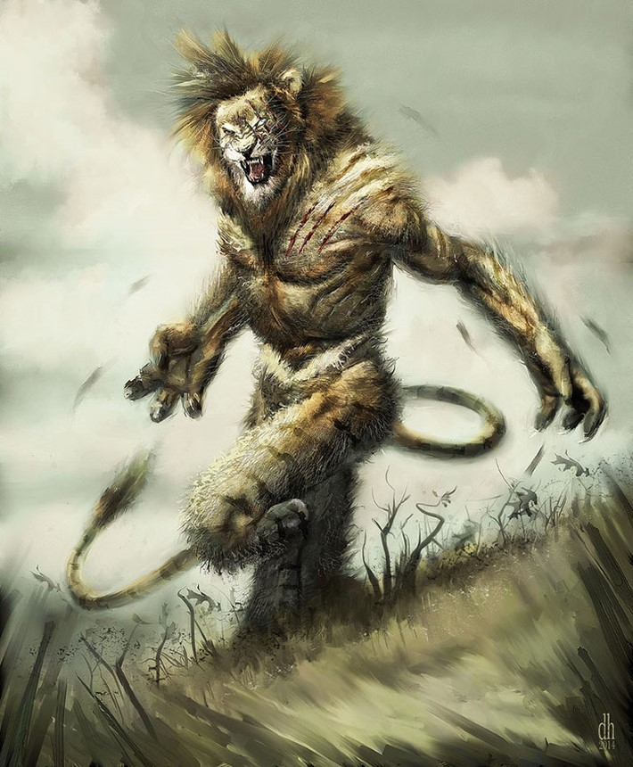 Zodiac Signs as Monsters