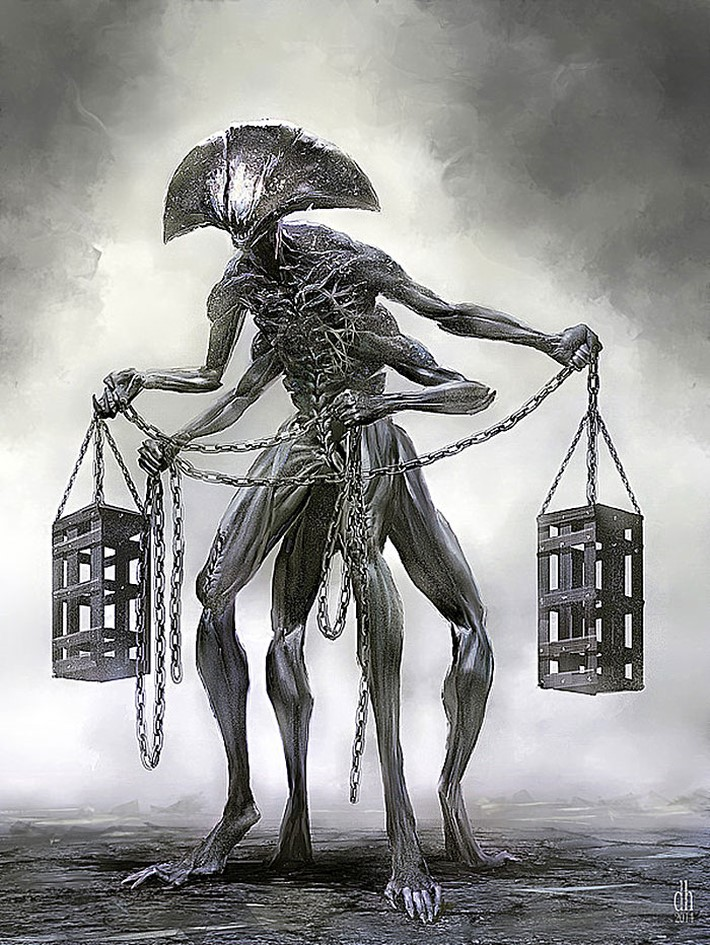 Artist-Recreated-Zodiac-Signs-as-Monsters