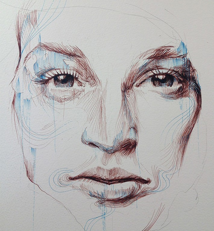 Ink-and-Tea-Portraits-at-London-Art-Fair-2015