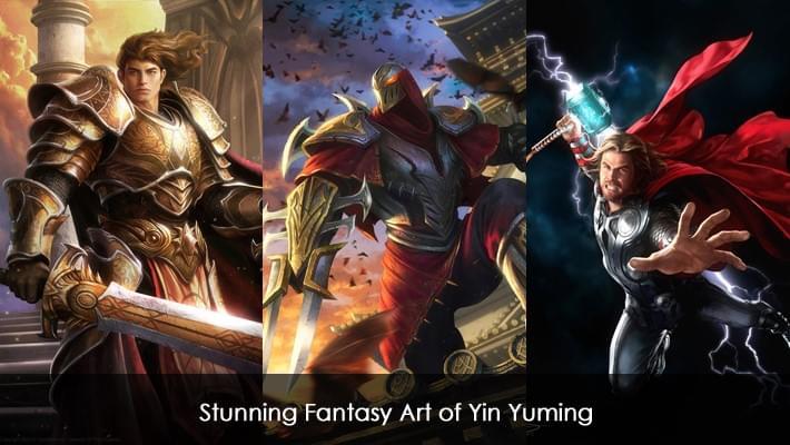 Stunning Fantasy Art of Yin Yuming